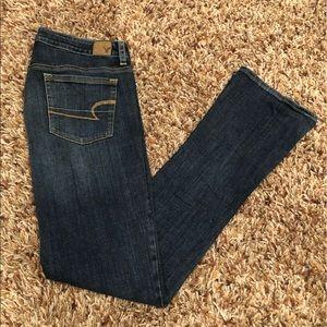 American Eagle - skinny kick stretch jean size 12L